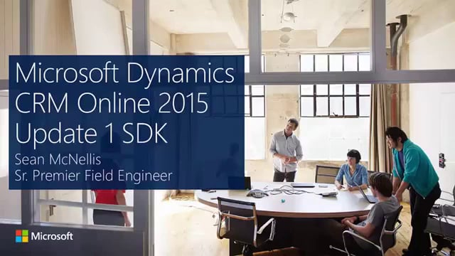Hesam_Seyed_Mousavi_Microsoft CRM 2015 SDK New Features